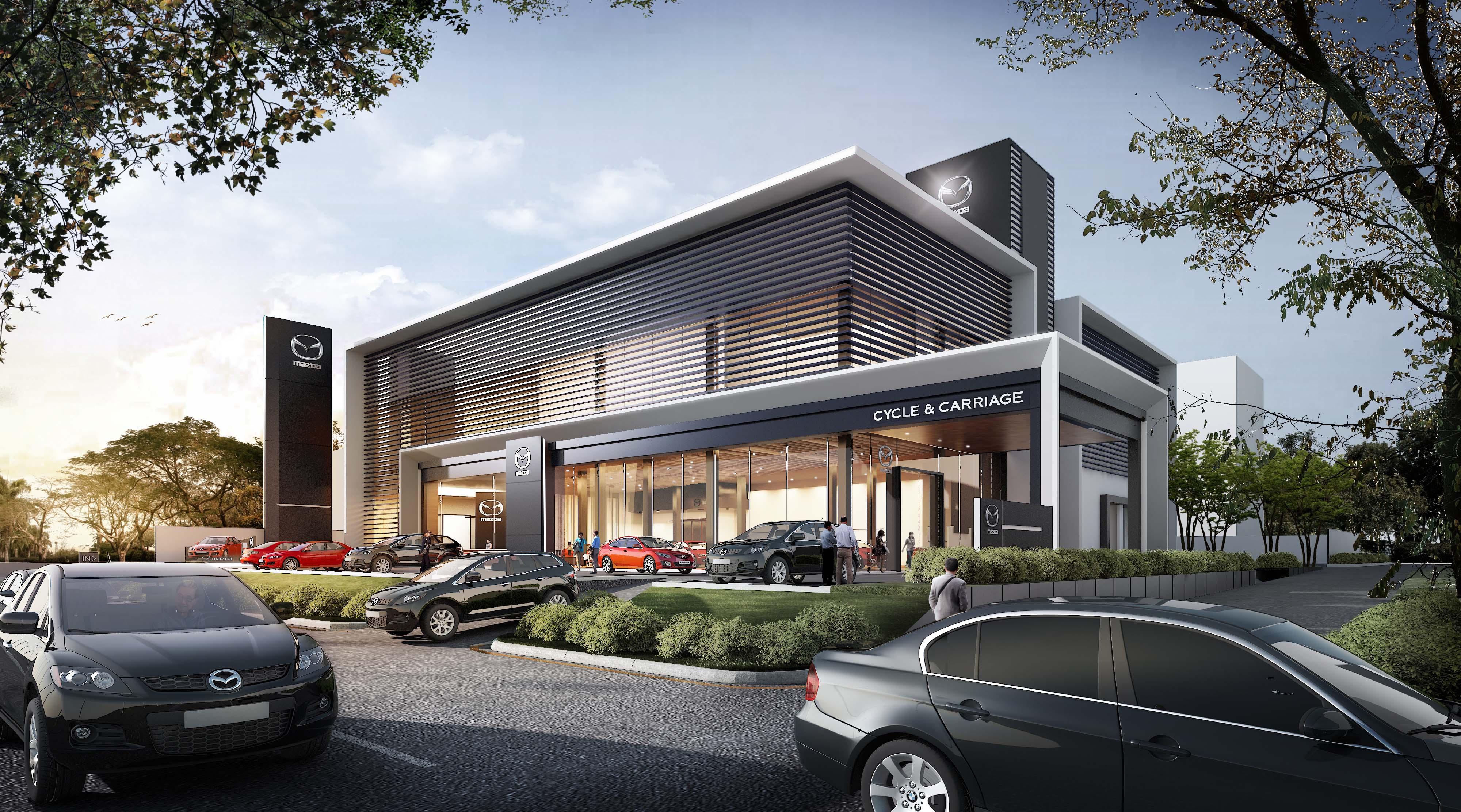 Mazda Showroom Yangon Meinhardt Transforming Cities