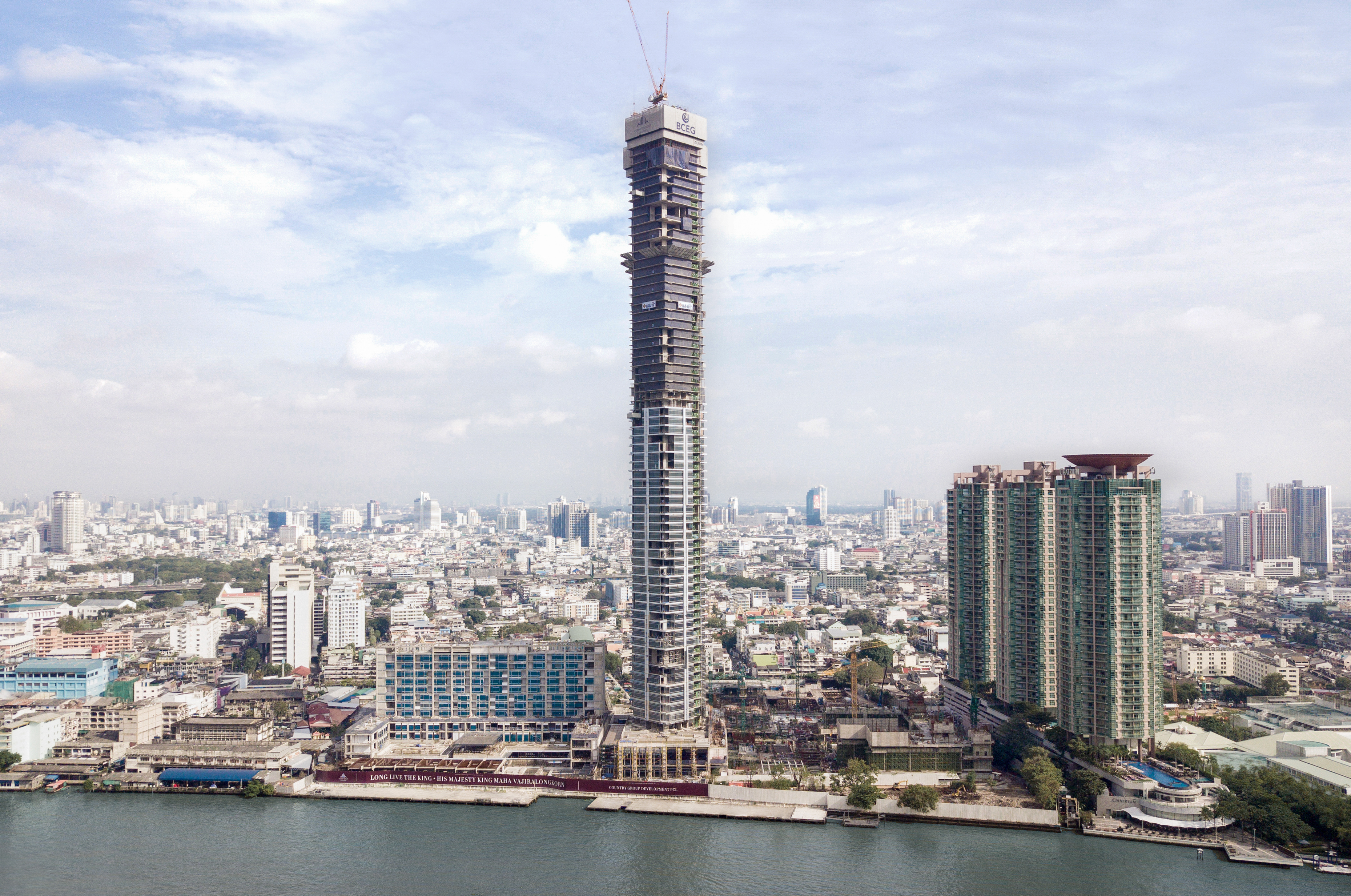 Four Seasons Private Residences Top Off Ceremony