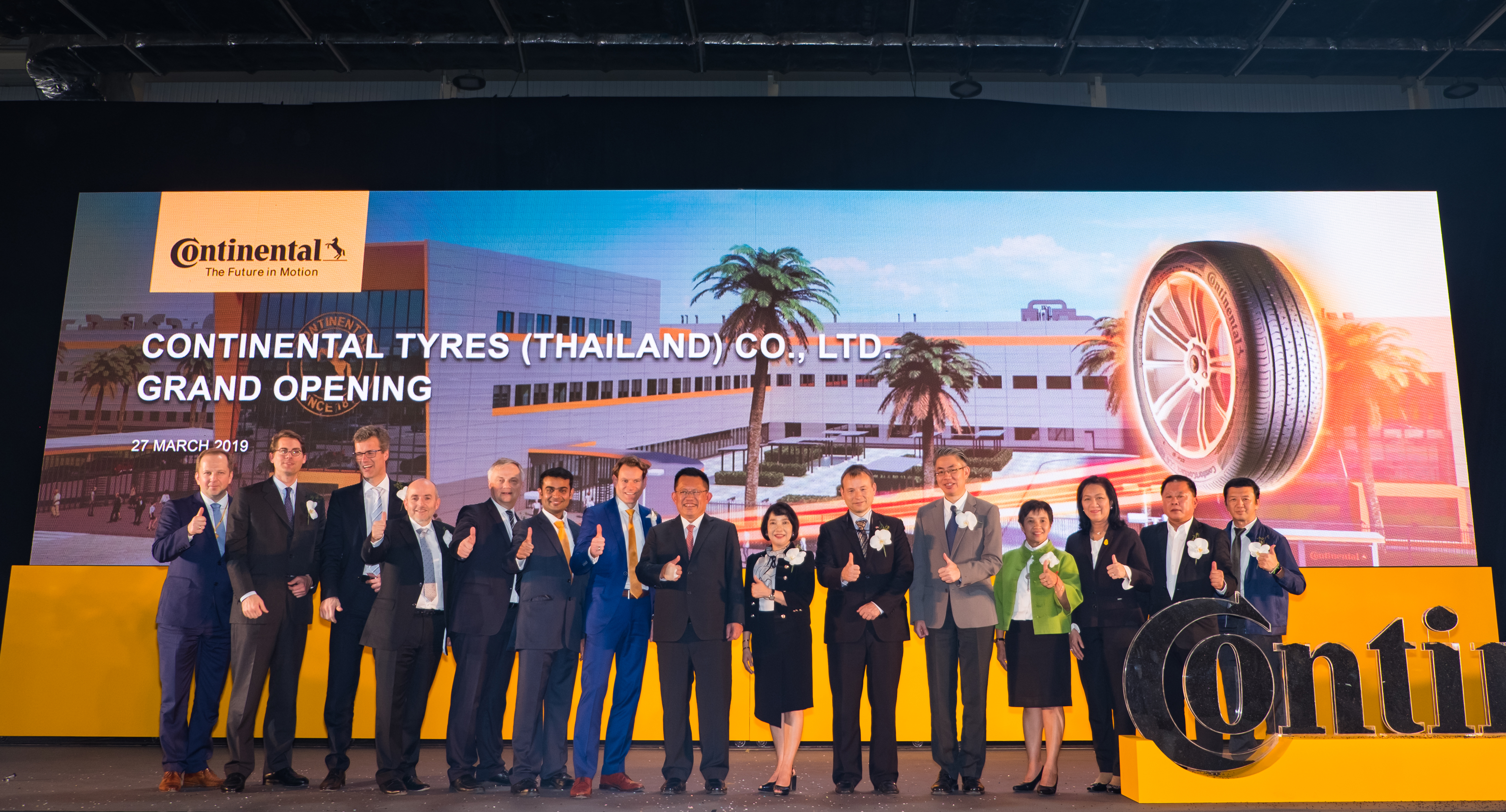 Continental Thailand Manufacturing Plant Grand Opening | Meinhardt